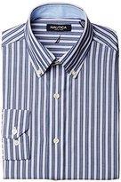Nautica Men's Striped Button-Front Shirt
