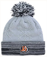 New Era Women's Cincinnati Bengals Snow Crown Redux Knit Hat