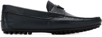 Emporio Armani logo oxford shoes