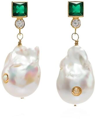 Anni Lu Pearl Drop Earring