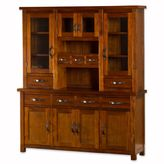 Hillsdale Outback Buffet and Hutch in Chestnut