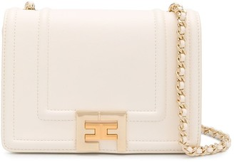 Elisabetta Franchi Foldover Cross Body Bag