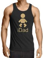 lepni.me Vest iDad best dad ever gifts for him father day gifts best dad trophy ( Black Gold)