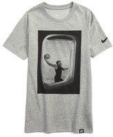 Nike Boy's Dry Air Window Graphic T-Shirt
