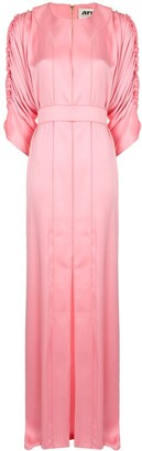 Maison Rabih Kayrouz Ruched Maxi Dress