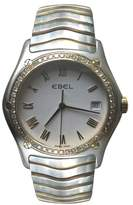 Ebel Sportwave 1187F44 18K Yellow Gold and Stainless Steel Diamond 34mm Mens Watch