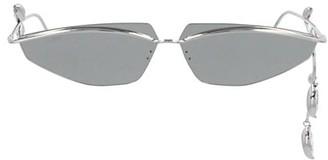 Fenty by Rihanna Side-Eye 64MM Butterfly Swarovski-Embelished Sunglasses