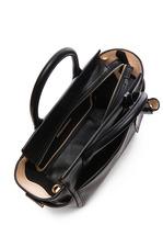 Reed Krakoff Mini Atlantique Leather Bag in Black