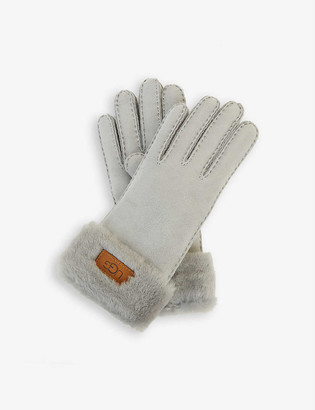 UGG Turn Cuff shearling gloves