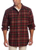 Carhartt Men's Big-Tall Hubbard Plaid Shirt