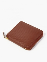 Comme Des Garcons Wallet Brown Leather Luxury Wallet