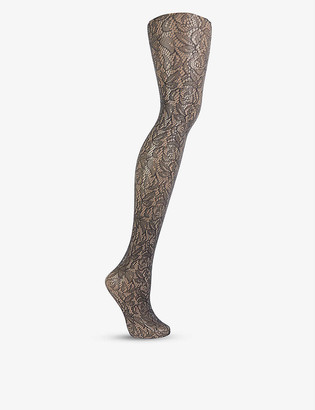 Wolford Reese stretch-lace tights