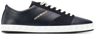 Emporio Armani Lace-Up Low Sneakers