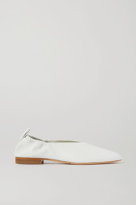 Co Leather Ballet Flats - Ivory