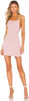 superdown x Chantel Jeffries Mackenzie Lace Up Back Mini Dress