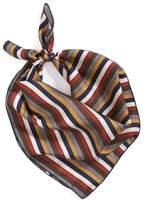 Donni Charm Women's Stripe Silk Neckerchief