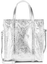 Balenciaga Bazar Small leather shopper bag