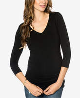Isabella Oliver Maternity Ruched T-Shirt