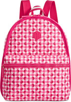 Tommy Hilfiger Polka Dot Basic Canvas Backpack