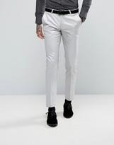 Noose & Monkey Super Skinny Suit Pants In Metallic
