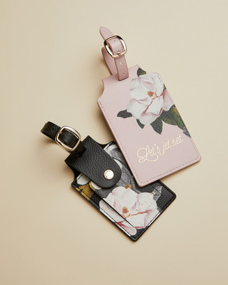 Ted Baker LAYLE Set of two Opal luggage tags