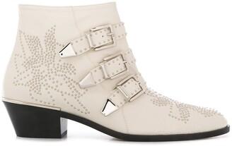 Chloé Susanna buckle 30mm ankle boots