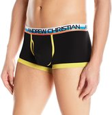 Andrew Christian Men's Tighty Whitie Tagless Fly Boxer