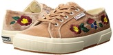 Superga 2750 - Embaivelvetw Women's Shoes