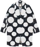 Leka Polka Dot Coat