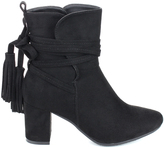 Refresh Black City Bootie