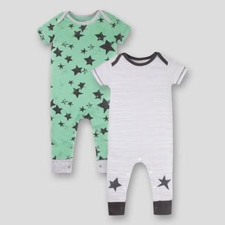 Lamaze Baby 2pk Star Printed Organic Cotton Romper -