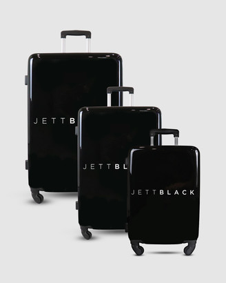 Jett Black Signature Luggage Set