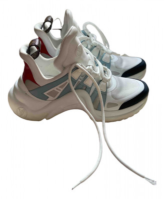 Louis Vuitton Archlight White Cloth Trainers