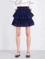 Self-Portrait Hazel mini skirt