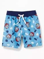 Old Navy Paw Patrol Swim Trunks for Toddler Boys