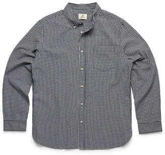 Surfsidesupply Long Sleeve Gingham Check Shirt