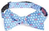 Vineyard Vines 'Polka Dot Whale' Print Silk Bow Tie