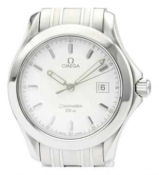 Omega Seamaster Aquaterra White Steel Watches
