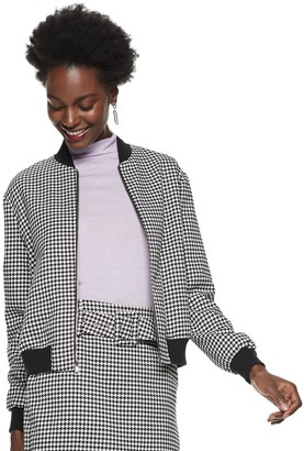 Nine West Women's Relaxed Bomber Jacket