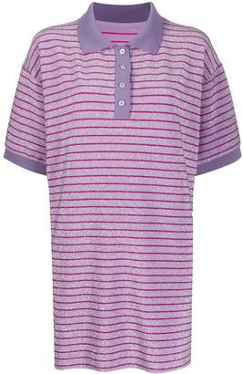 MM6 MAISON MARGIELA Striped Polo-Shirt Dress