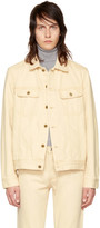A.P.C. Beige Denim Benjamin Jacket
