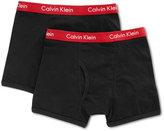 Calvin Klein Boys' 2-Pack Cotton Boxer Briefs