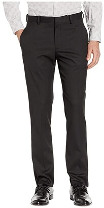 Perry Ellis Portfolio Slim Fit Stretch Flat Front No-Iron Dress Pants