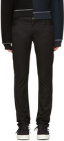 Christian Dada Black Signature Super Skinny Trousers