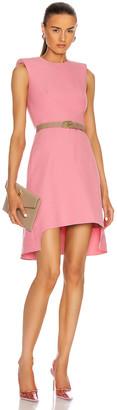 Alexander McQueen Sleeveless Mini Dress in Quilt Pink | FWRD