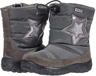 Naturino Falcotto Poznurr Star AW20 (Toddler) (Grey) Boy's Shoes