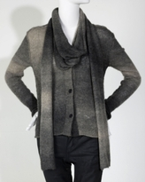 Ombre Scarf Cardigan
