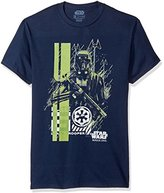 Star Wars Men's Rogue One Death Trooper Need Space Graphic T-Shirt