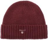 Gant Fleece Lined Beanie Hat Purple