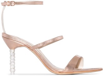 Sophia Webster Rosalind 85mm crystal heel sandals
